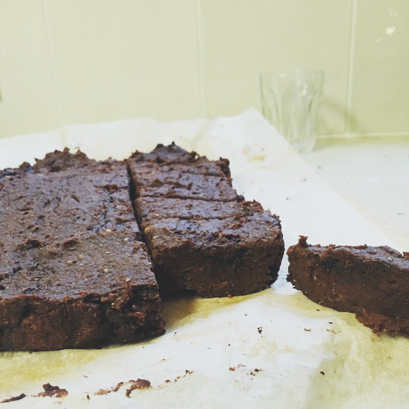 SWEET POTATO BROWNIES www.amirankin.com
