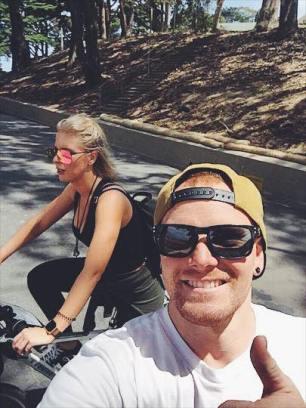 Golden Gate bike ride